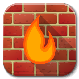 Apps Firewall Icon Flatwoken Iconset Alecive