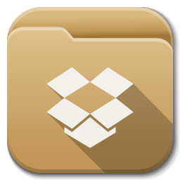 Apps Folder Dropbox Icon Flatwoken Iconset Alecive