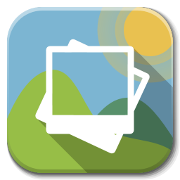 Apps Gallery Icon Flatwoken Iconset Alecive