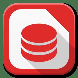 Apps Libreoffice Base icon
