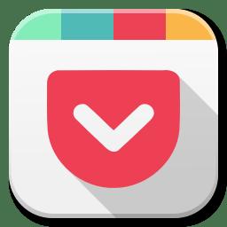 Apps Pocket Icon Flatwoken Iconset Alecive