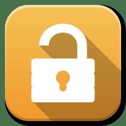 Apps Unlock icon