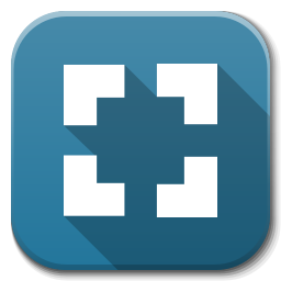 Apps Zoom Fit Icon Flatwoken Iconset Alecive