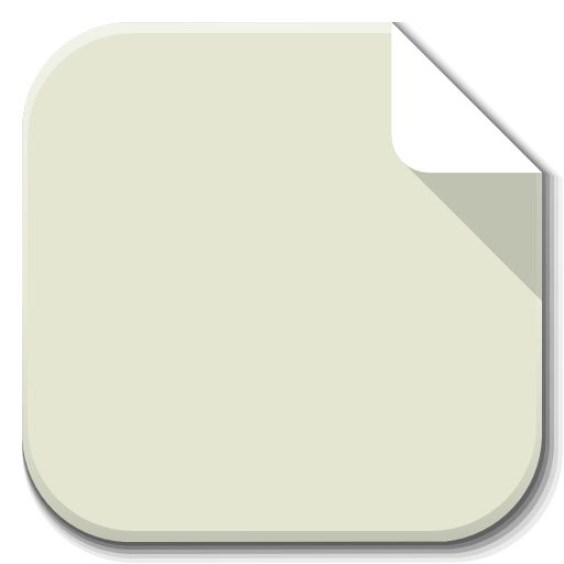 Apps Icon Template File icon