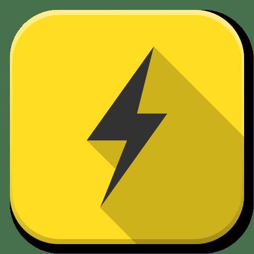 apps power b icon flatwoken iconset alecive apps power b icon flatwoken iconset