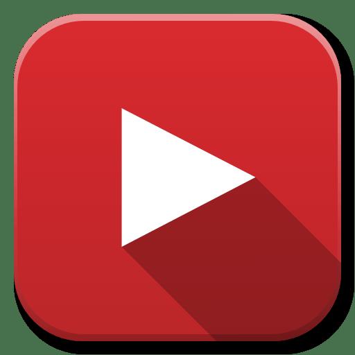 Apps Youtube B Icon   Flatwoken Iconset   alecive