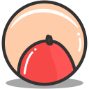 Button mango icon