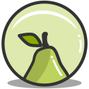 Button pear icon