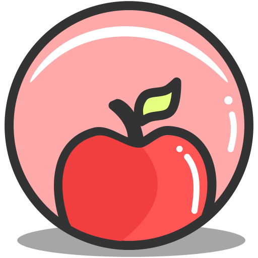 Button apple icon
