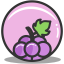 Button grape icon