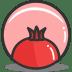 Button-pomegrante icon