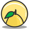 Button-lemon icon