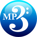 MP3 blue icon