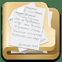 Folder documents 2 icon