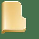 Folder front icon