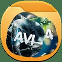 Folder videos 2 icon