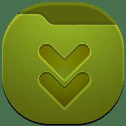 Folder downloads 2 icon