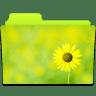Folder-Sunflower icon