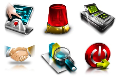 Enterprise Resource Planning Icons