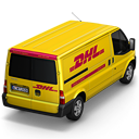 DHL Van Back icon
