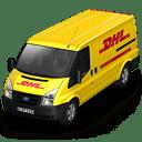 DHL-Van-Front icon