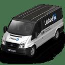 Linkedin-Van-Front icon