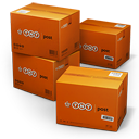 TNT Shipping Box icon
