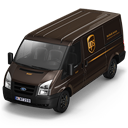 UPS-Van-Front icon