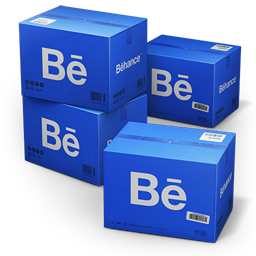 Behance Shipping Box icon