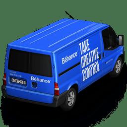 Behance Van Back icon