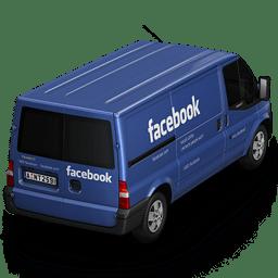 Facebook Van Back icon