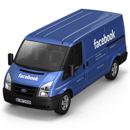 Facebook Van Front icon