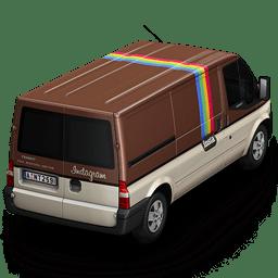 Instagram Van Back icon
