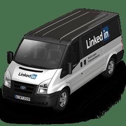 Linkedin Van Front icon