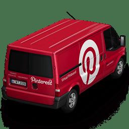 Pinterest Van Back icon