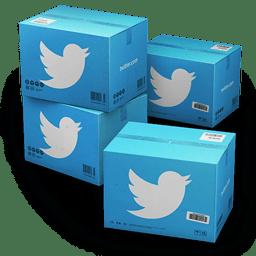 Twitter Shipping Box icon