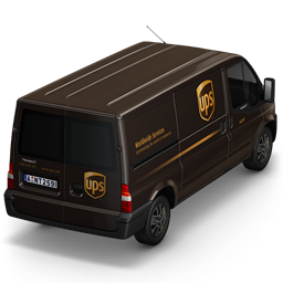 UPS Van Back icon