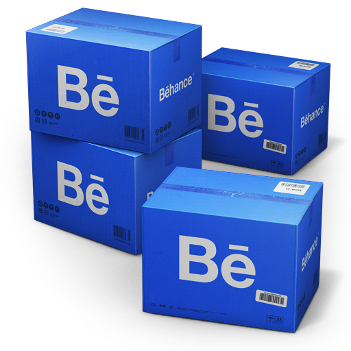 Behance Shipping Box icon