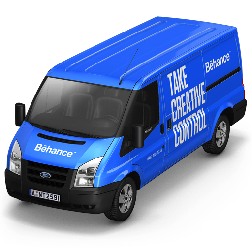 Behance-Van-Front icon