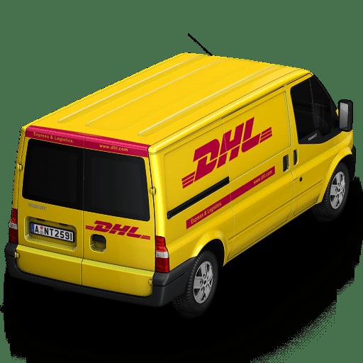 DHL Van Back icon