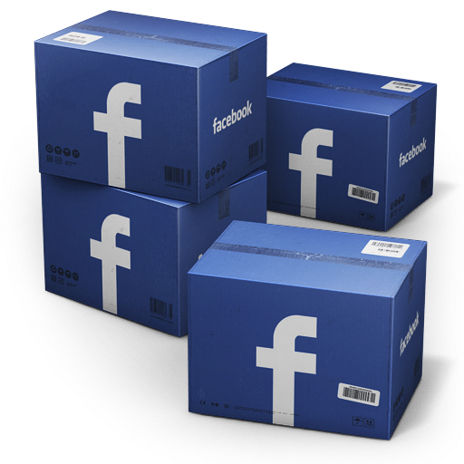 Facebook-Shipping-Box icon