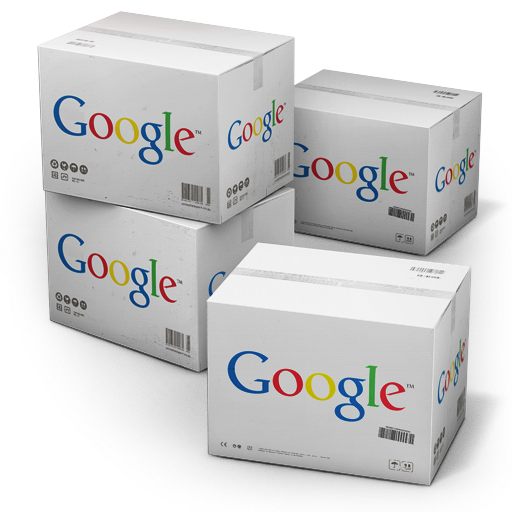 Google Shipping Box icon