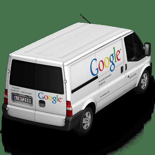 Google Van Back icon