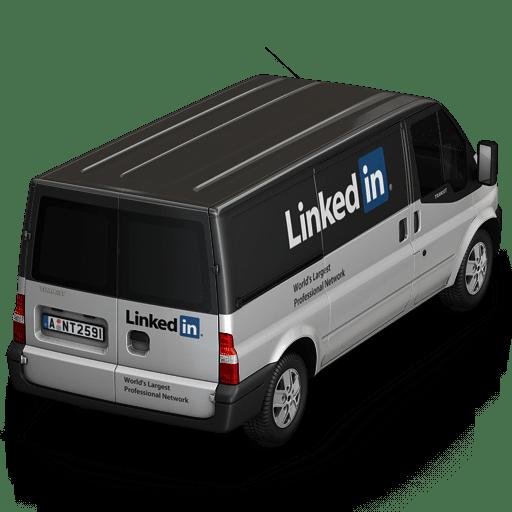 Linkedin-Van-Back icon