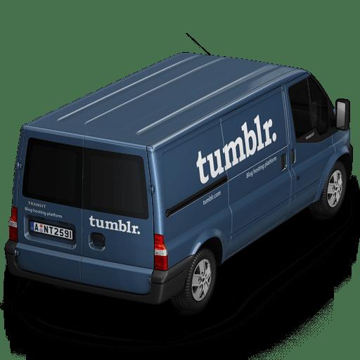 Tumblr Van Back icon