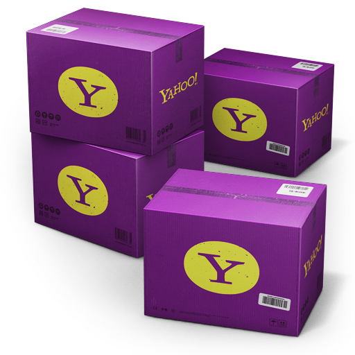 Yahoo-Shipping-Box icon