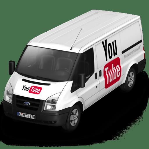 YouTube Van Front icon
