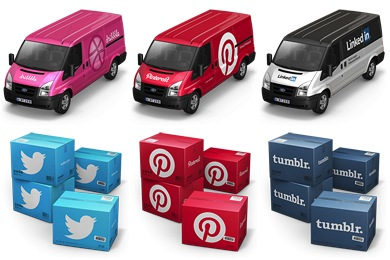 Container 4 / Cargo Vans Icons