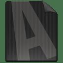File FONT icon