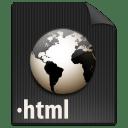 File HTML icon
